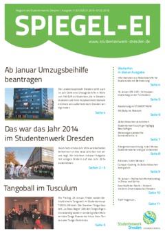 SPIEGEL-EI Cover 1/2015